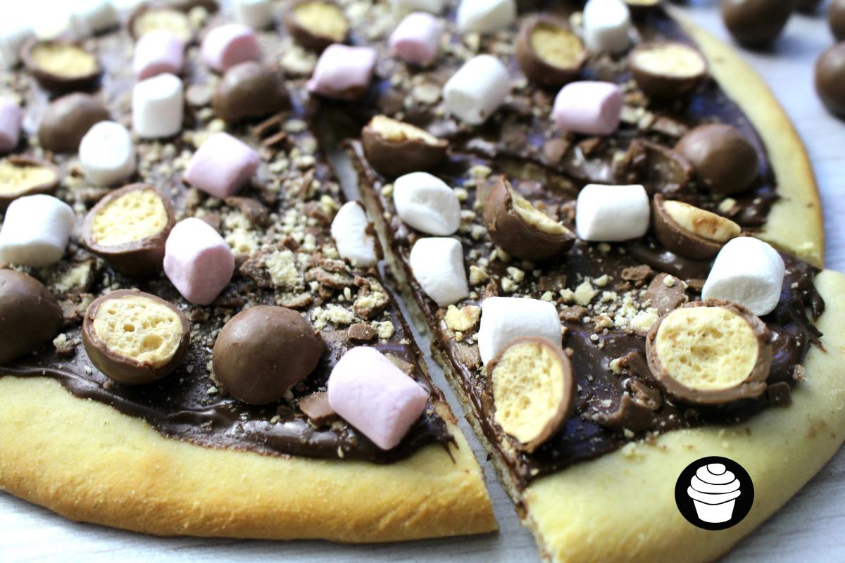 Maltizza (Malteser Chocolate Pizza)