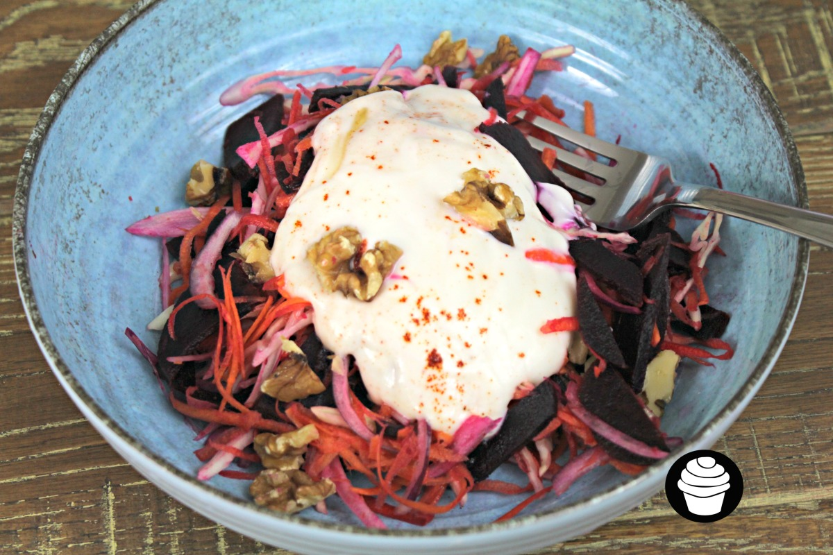 Beetroot and Yoghurt Coleslaw
