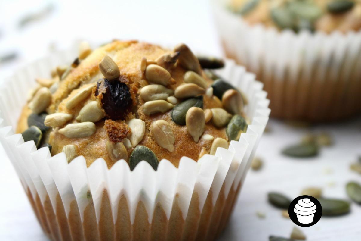 Sultana & Walnut Muffins