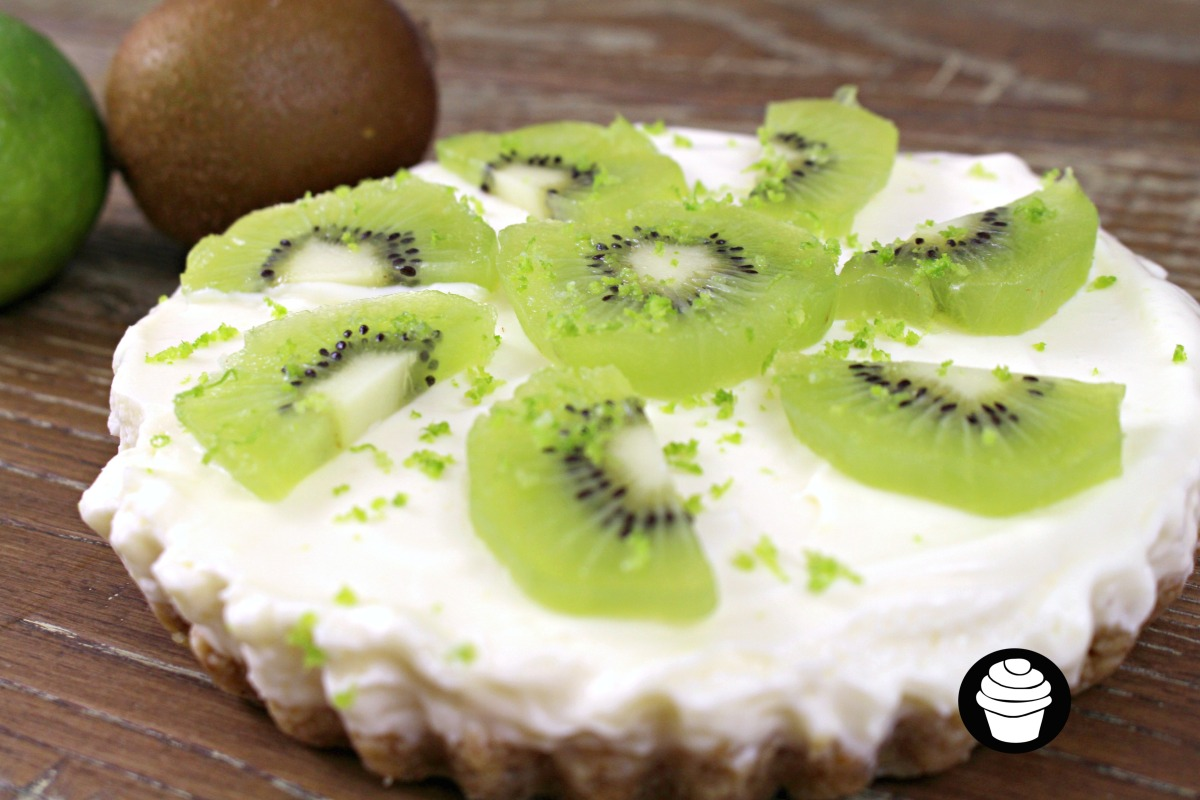 Kiwi and Lime Cheesecake