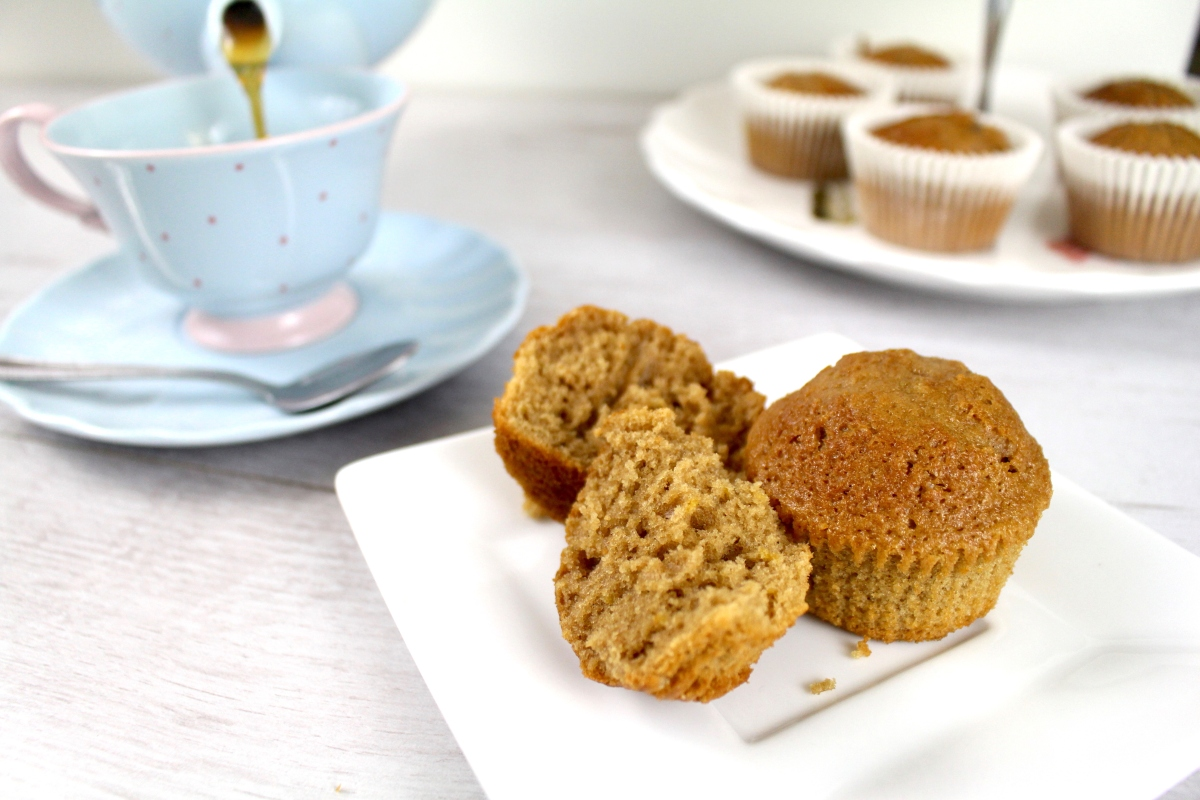 Tea Infused Muffins